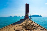 Boating on the Andaman Sea — Stock Photo