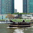 rivière de Chao phraya — Photo
