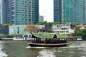Chao Phraya river — Stock Photo