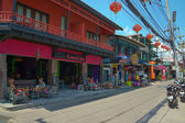 Samui street — Stock Photo
