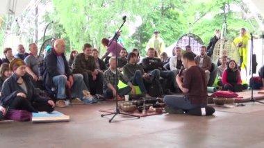 "XI International Jazz Festival ""Usadba Jazz — Stock Video"