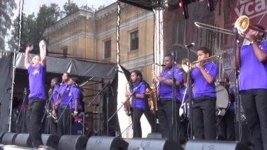 "XI International Jazz Festival ""Usadba Jazz"" — Stock Video"