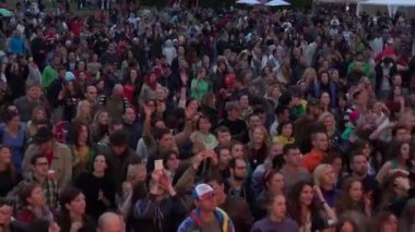 "International Jazz Festival ""Usadba Jazz"" — Стоковое видео"