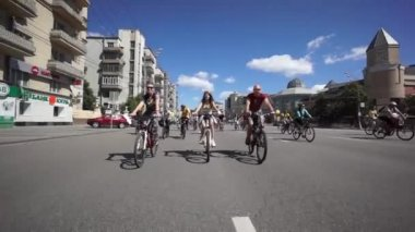 Bike Parade — Vídeo de Stock