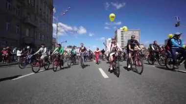 Bike Parade — Stock video