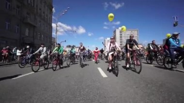 Bike Parade — Vídeo Stock