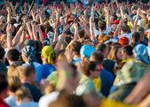 "Rock festival ""Nashestvie"" — Stock Photo"