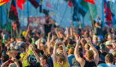 "Rock festival ""Nashestvie"" — Stock Photo"