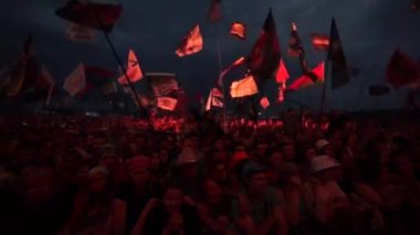 "Rock festival ""Nashestvie"" — Stock Video"