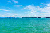 Small islands seascape panorama in Thailand — Stock Photo