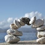 Stones at the sea — Stock Photo