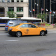 Chicago Taxi - Stock Photo