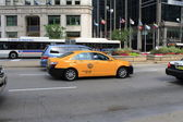 Chicago Taxi — Stock Photo
