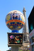 Las Vegas - Paris Hotel and Casino — Stock Photo