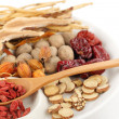 Chinese traditional herbal medicine — Stock Photo #46695041
