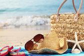 Summer vacation at beach — Stock Photo