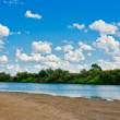 River beach — Stock Photo #23216948