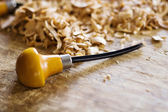 Wood working tool — Stock Photo