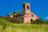 Ruined church — Stock Photo