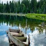 Abandoned boat — Stock Photo #9507761