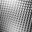 Abstract metal silver bump shiny background - Stock Photo