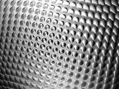 Abstract metal silver bump shiny background — Stock Photo