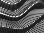Silver metal stripe abstract — Stock Photo