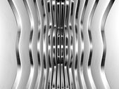 Futuristic technology metal abstract background 3d illustration — Stock Photo