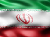 Iran country flag 3d illustration — Stock Photo