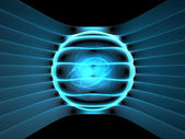 Energy generator concept abstract illustration — Stock Photo