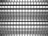 Contexte dynamique cube argent — Photo
