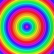 Multicolor torus pattern background — Stock Photo