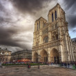 Stock Photo: Notre Dame de Paris. France