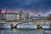 View of the bridge in Paris — ストック写真