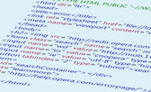 Web HTML code background css html5 — Stock Photo