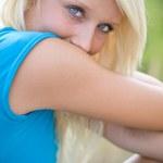 Beautiful blond girl — Stock Photo #2493901