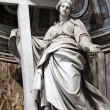 Sculpture of St. Helena, Rome - Stock Photo