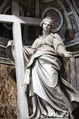 Sculpture of St. Helena, Rome — Stock Photo