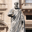 Sculpture of St. Peter — Foto de stock #25398811