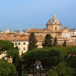 View of Rome from the Capitoline Hill — Stock Photo