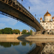 Stock Photo: The Cathedral of Christ the Saviour