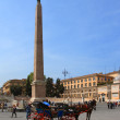 Obelisk Flaminio — Stock Photo