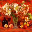 Stock Photo: Still-life with lily