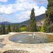 Fountain at Villa d'Este — Stock Photo