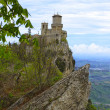 The second tower of San Marino — Stock Photo
