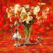 Bouquet of lily flowers — Stock Photo #28986001