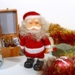 Stock Photo: SantClaus and gifts
