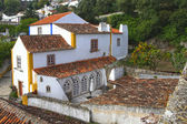 House in the old town of Obidos — Stock Photo