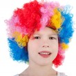 Cute little clown — Stock Photo