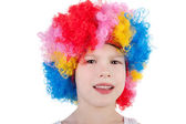 Cute little clown — Stock Photo